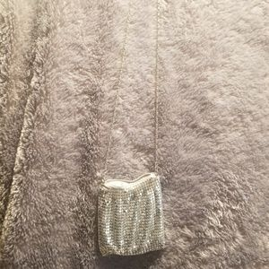 Handbags - Mini silver crossbody
